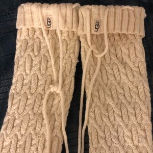 Knitted long stockings